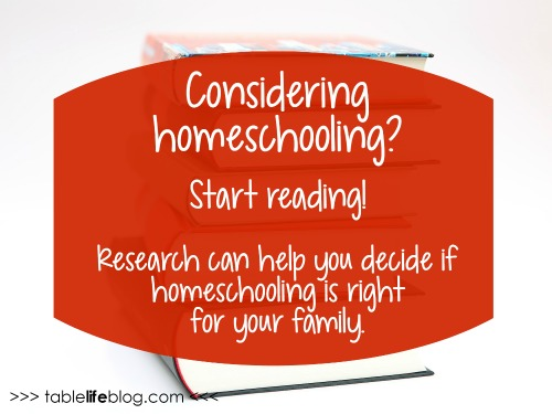 Getting Ready for Your Homeschool Journey