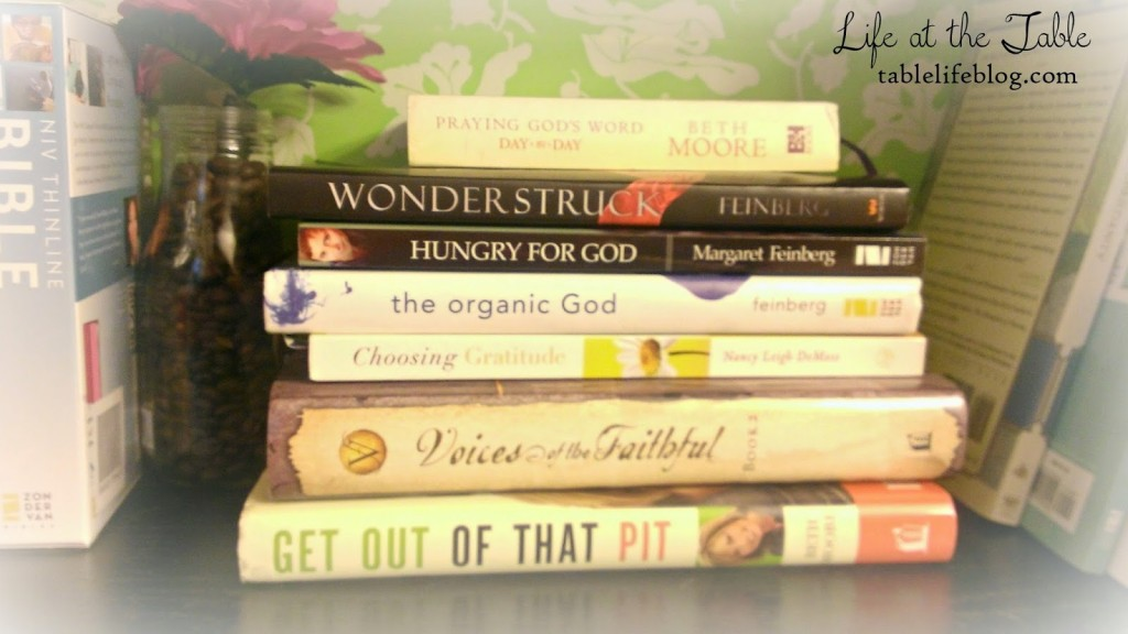 Growing in Faith - resources for nourishing your relationship with God
