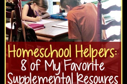 Homeschool Helpers - Favorite Supplement Sites