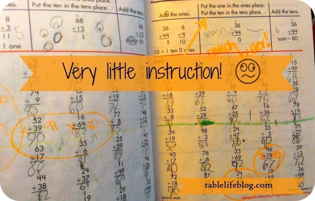 Homeschool Curriculum Rejects - The Math Factor