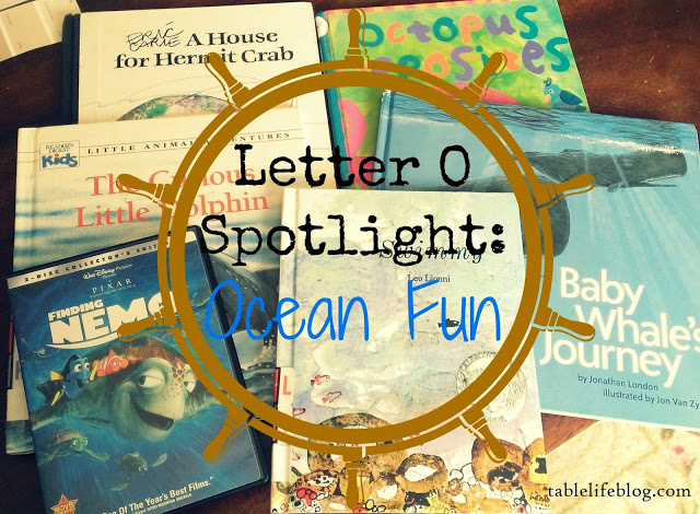 Letter of the Week - O is for Ocean
