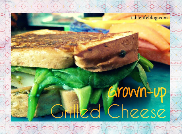 Recipe Roundup - Lunchtime Favorites- Grown up Grilled Cheese