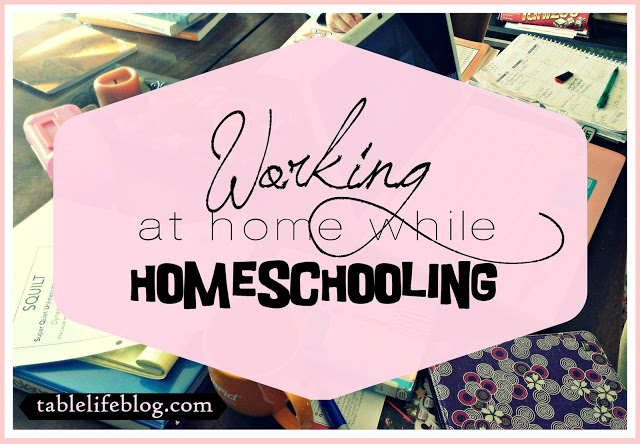 Working at Home While Homeschooling
