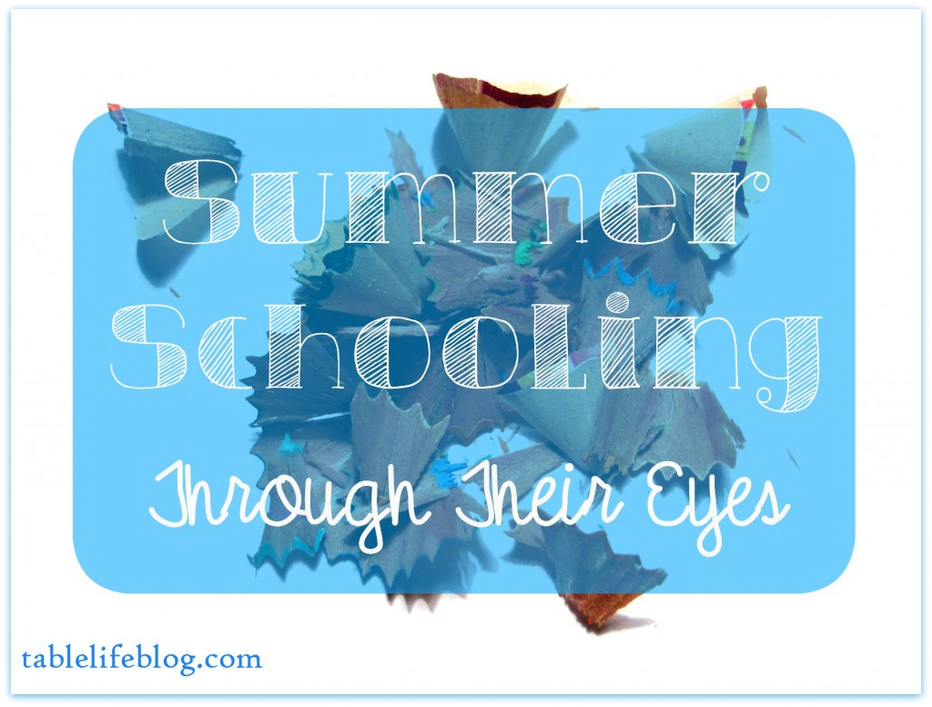 Summer School - Summer Homeschool Through Their Eyes