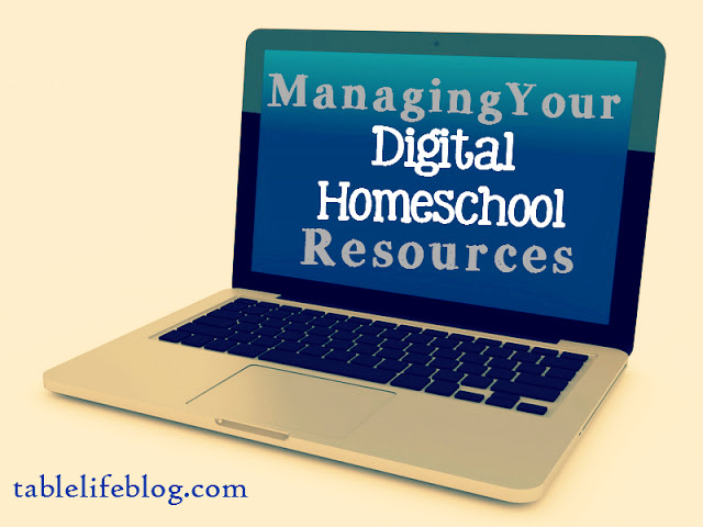 Managing Digital Homeschool Resources