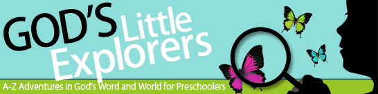 5 Fantastic Resources for Homeschooling Preschool - God's Little Explorer's Preschool Curriculum
