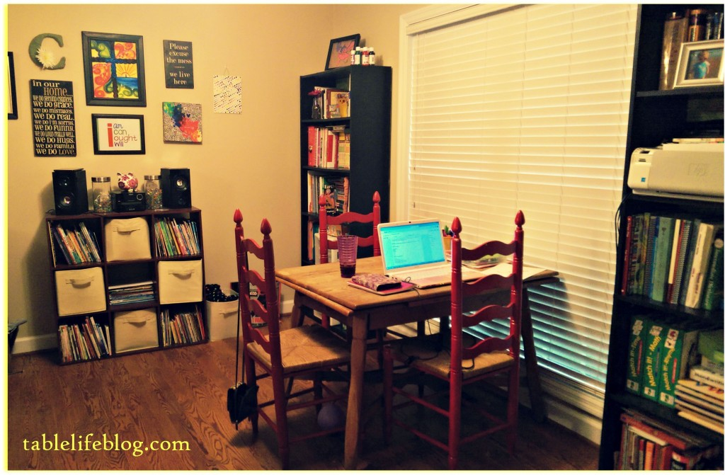 Back to Homeschool: School Room Spotlight