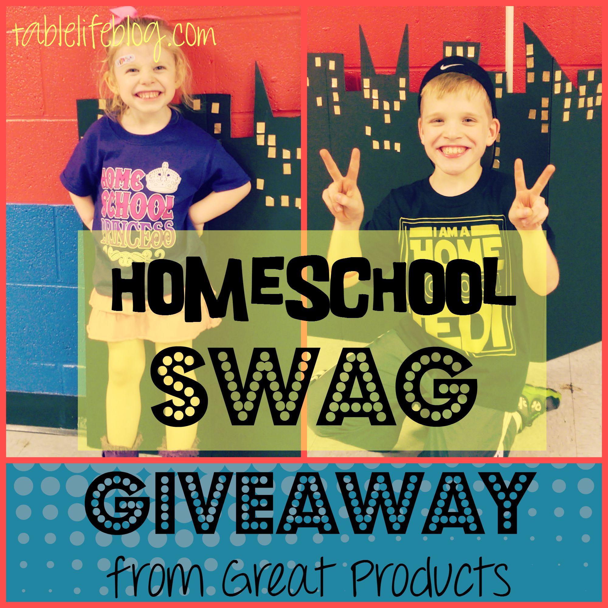 Homeschool T-Shirt Giveaway