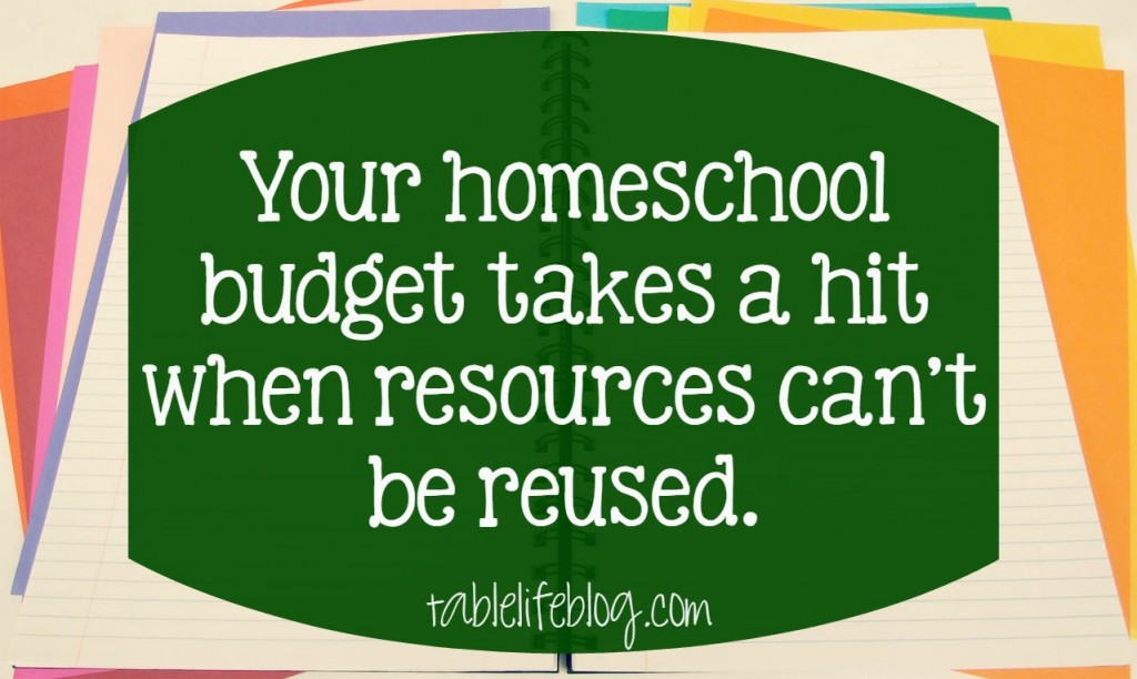 Make over your homeschool budget - identifying budget busters