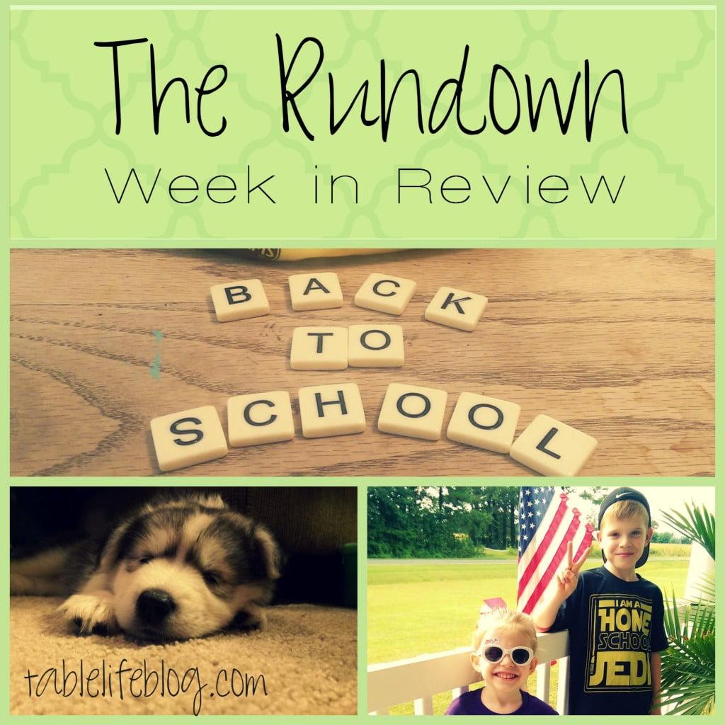 The Rundown - Week in Review - Week 1, 2015
