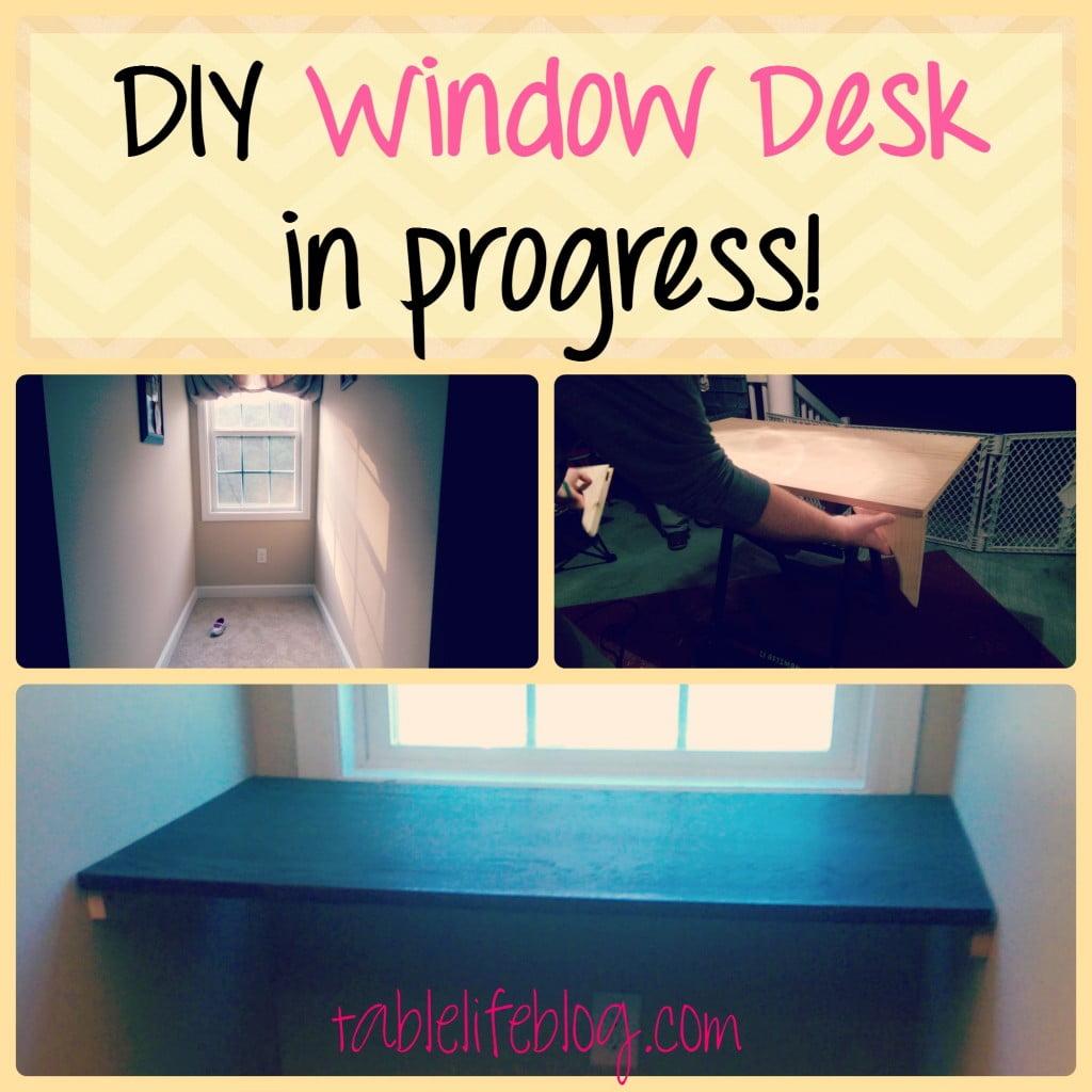 The Rundown - Week in Review - Week 9 - DIY Window Desk