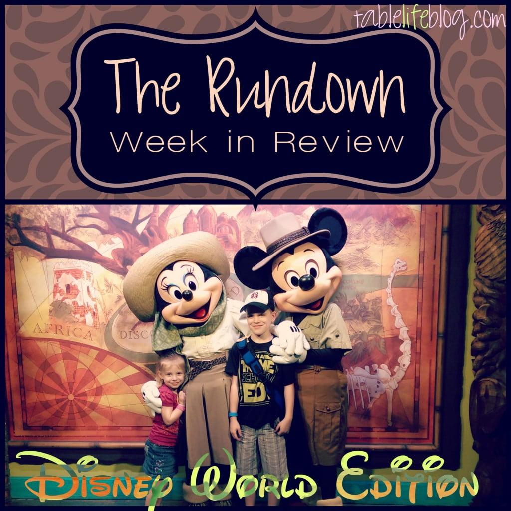 The Rundown - Homeschool Week in Review - Week 13