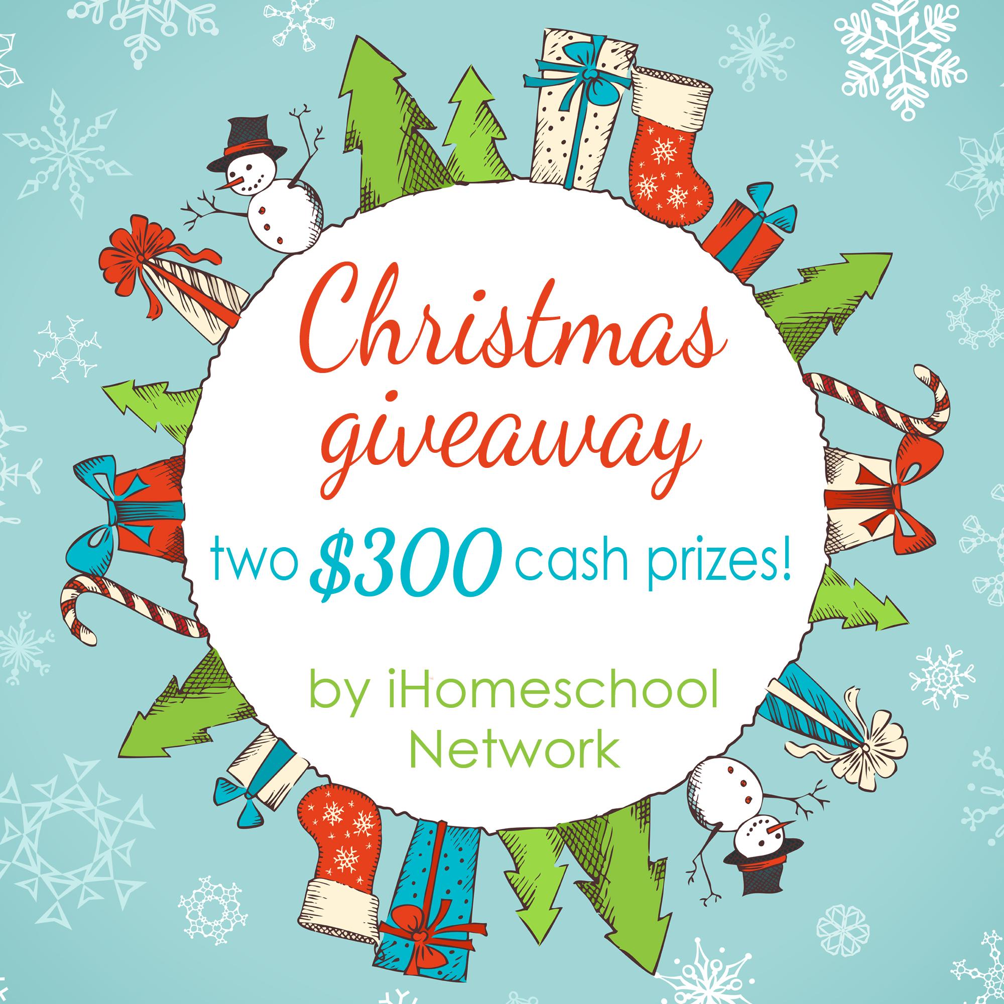 iHomeschool Network's Christmas Giveaway