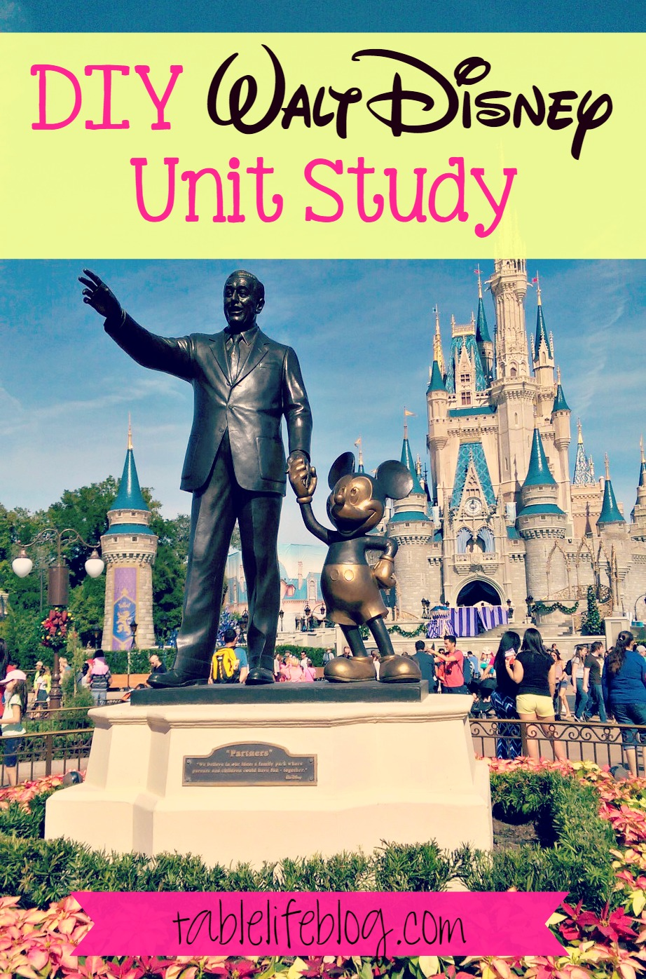 DIY Walt Disney Unit Study