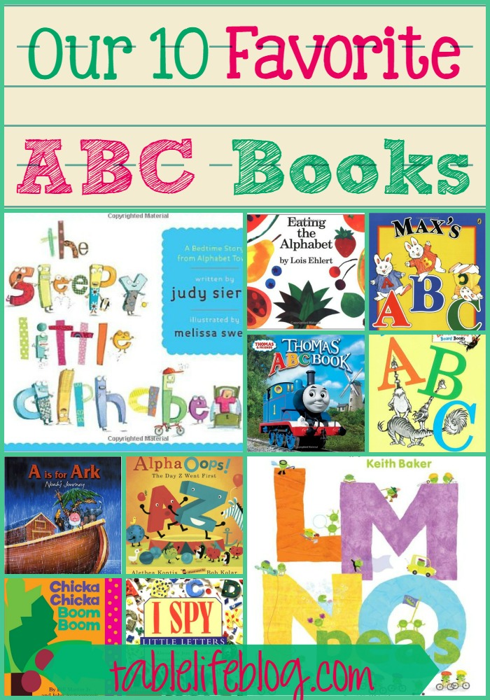 Our 10 Favorite ABC Books