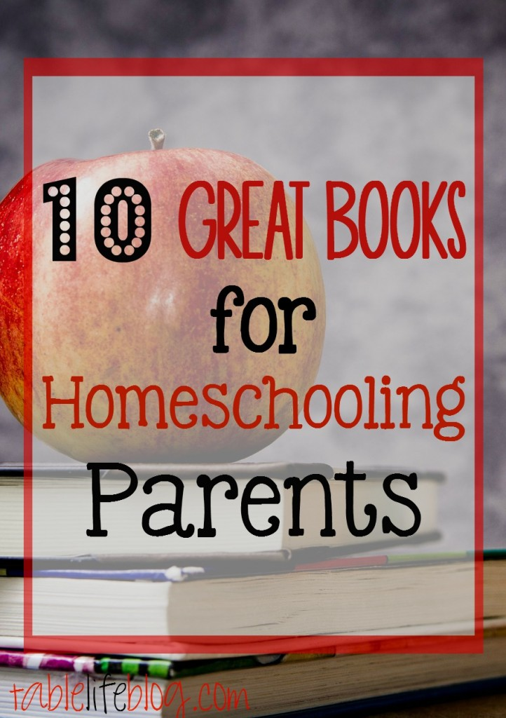 Great Books for Homeschooling Parents