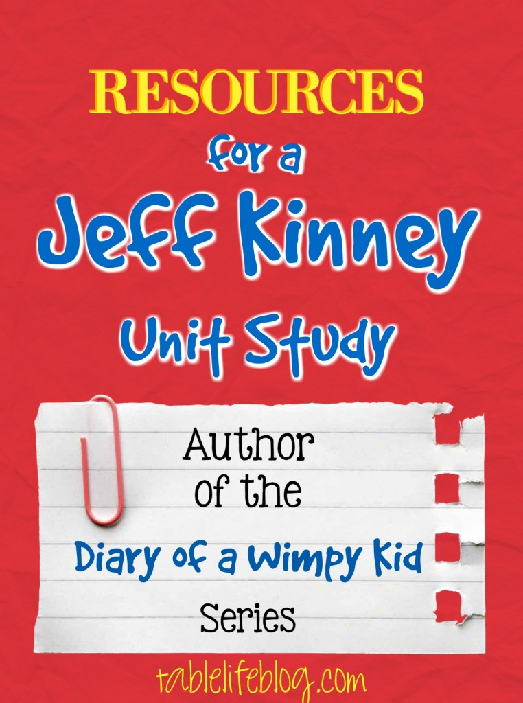 Jeff Kinney Unit Study