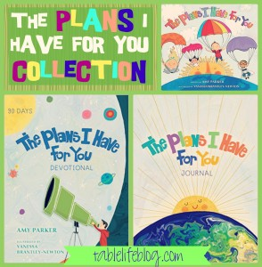 10 Great Devotionals for Kids - The Plans I Have for You Collection by Amy Parker and Vanessa Brantley-Newton