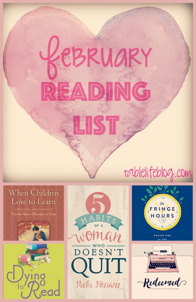 February 2016 Reading List