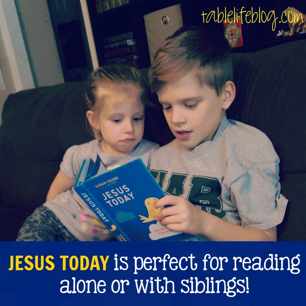 Jesus Today: Devotions for Kids - Review