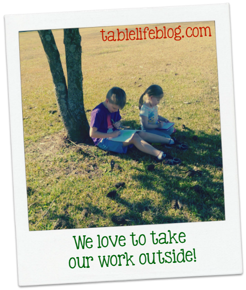 Done by Noon - A Look at a Typical Homeschool Day