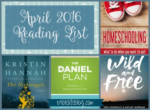 April 2016 Reading List