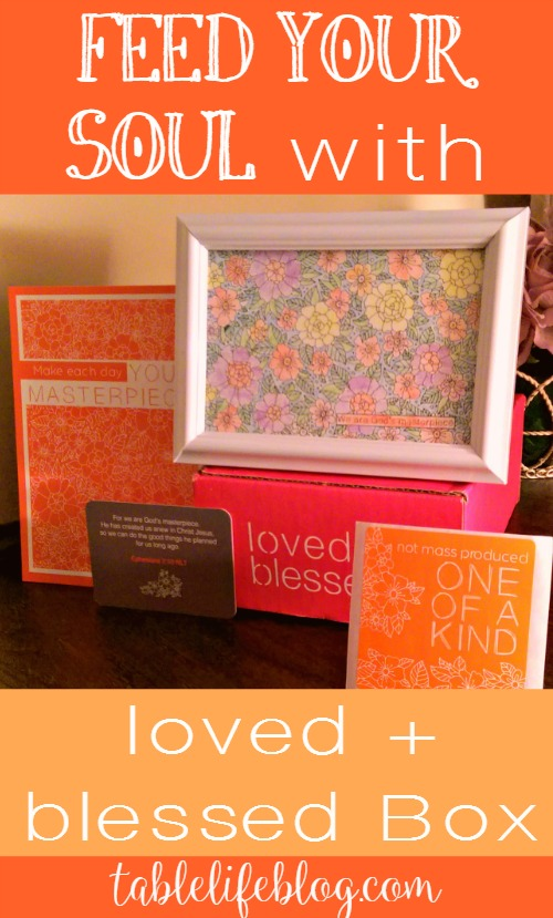 Feed Your Soul with Loved and Blessed Box