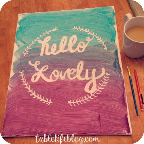 DIY Canvas Art (Plus an awesome Canvas Factory Giveaway)