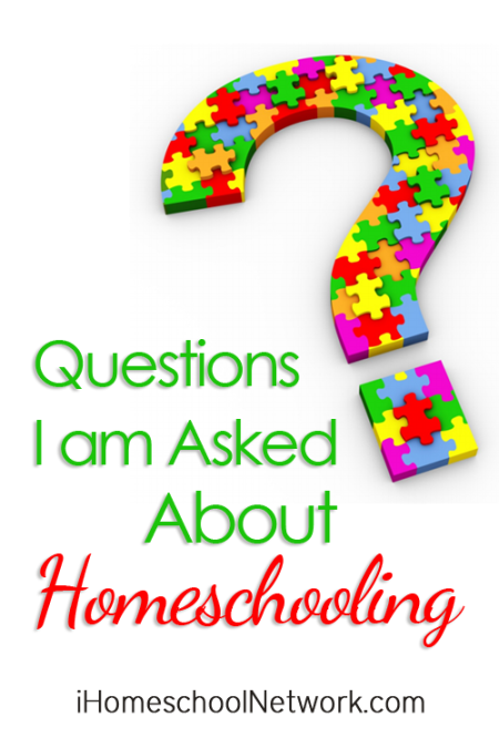 Homeschool Questions I'm Often Asked