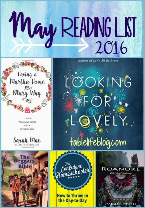May Reading List - 2016
