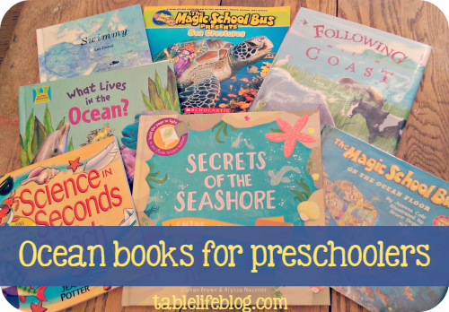 Easy Preschool Ocean Unit Study - Books to Read