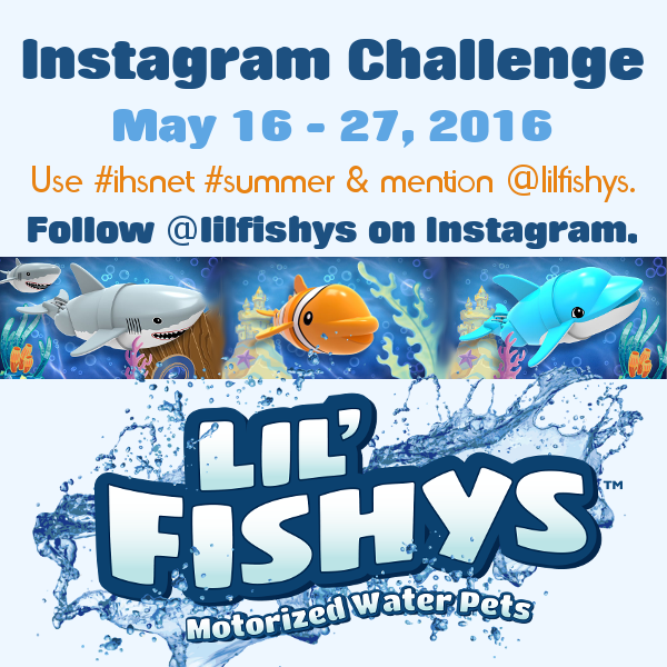 Lil' Fishys Instagram Challenge - Using Fish Toys for Early Learning