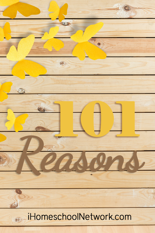 101Reasons We Love Homeschool