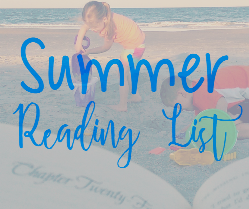 My Summer Reading List for 2016