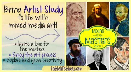 Bringing Artist Study to Life with Mixed Media