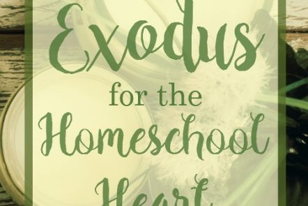 Exodus for the Homeschool Heart