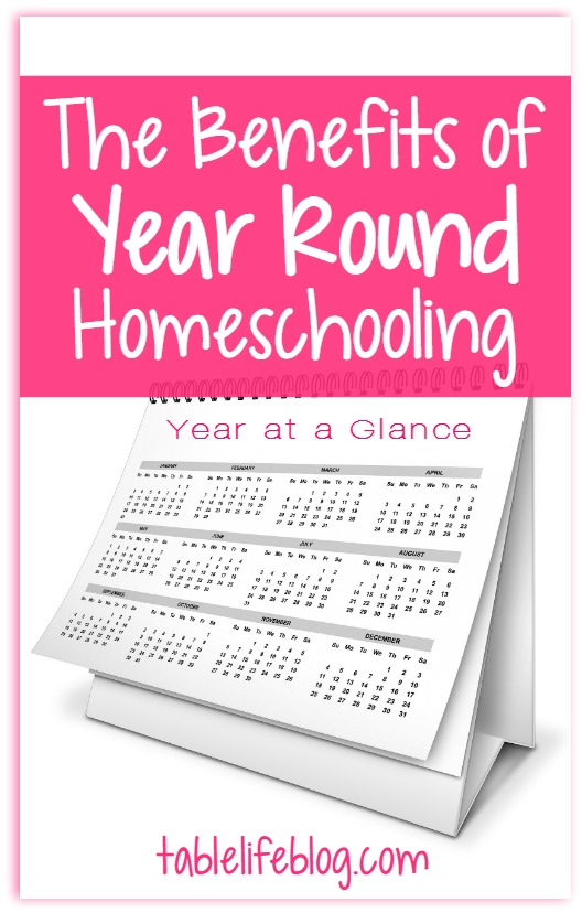 The Benefits of Year Round Homeschooling