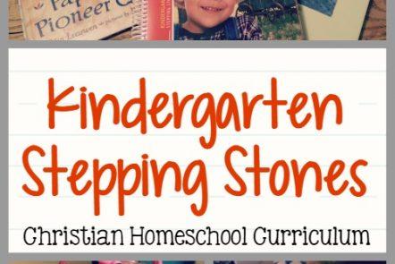 Kindergarten Stepping Stones