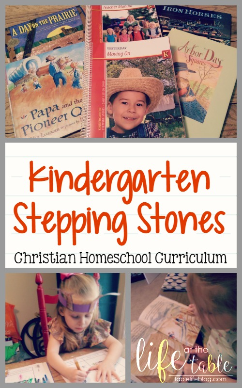 Kindergarten Stepping Stones