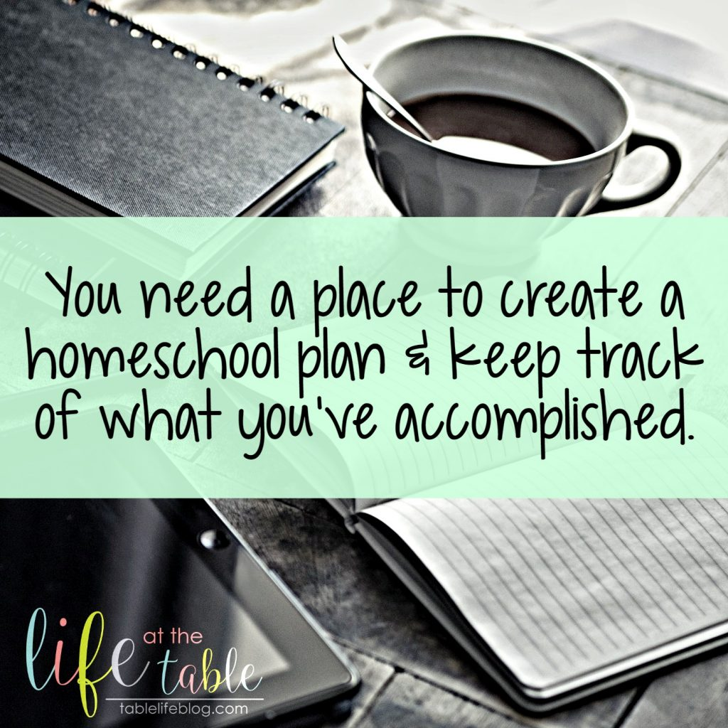 Sanity-Savers Create a Homeschool Plan