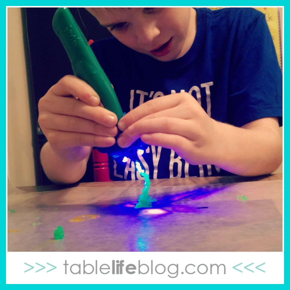 Having fun with 3D pens for kids