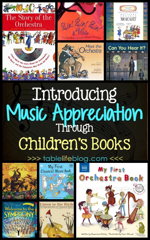 Introducing Music Appreciation Through Children's Books