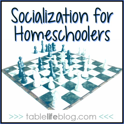 Considering Homeschool: Socialization for Homeschoolers