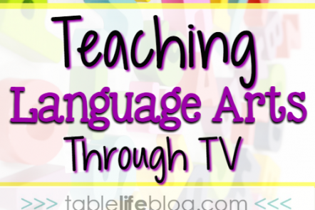Teaching Language Arts Through TV Shows
