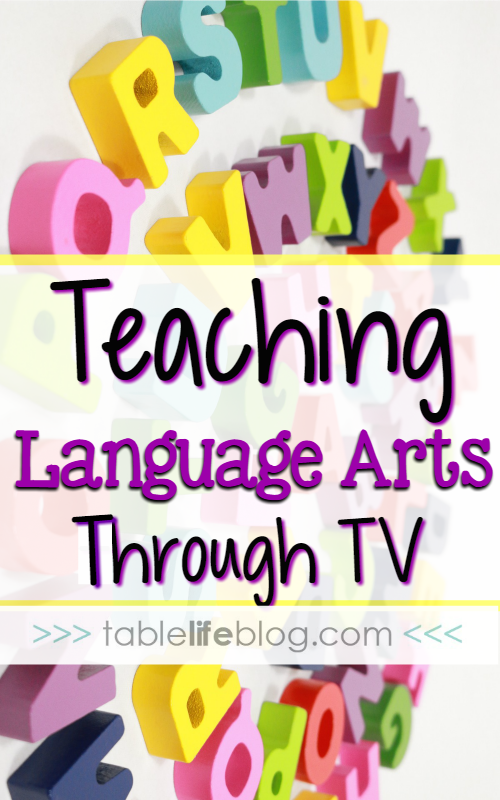 Teaching Language Arts Through Television Shows