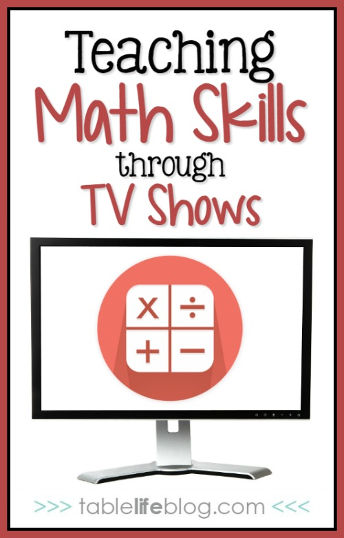 Teaching Math Skills through TV Shows