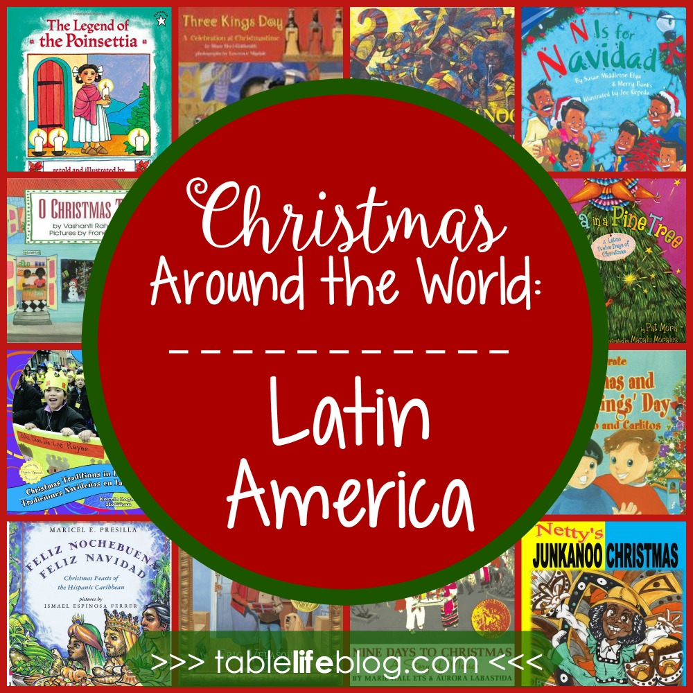 Christmas Around the World in 100 Books - Christmas in Latin America