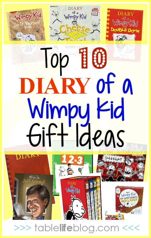 Diary of a Wimpy Kid Gift Guide: Top 10 Wimpy Kid gifts for your fan