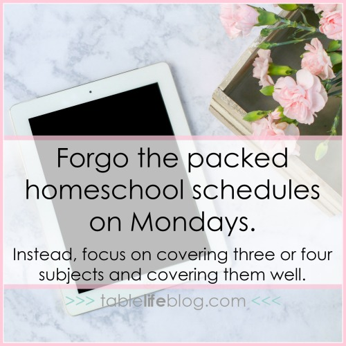 Homeschool Monday: 5 Ways to Start Strong Each Week