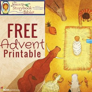 Advent Ideas for Families - The Jesus Storybook Bible Advent Devotional